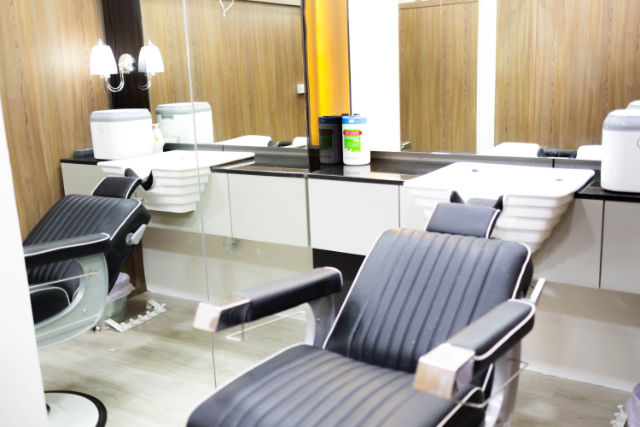 Hair Scalp Center's grooming room
